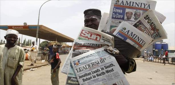 Abuja newspaper vendors