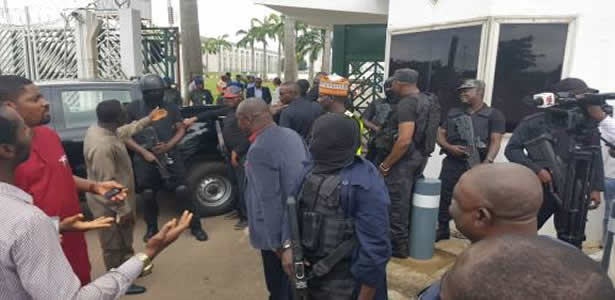 IGP asks Osinbajo for permission to question all the DSS operatives who invaded NASS