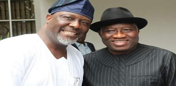 Senator Dino Melaye who was arrested '14 times' during Goodluck