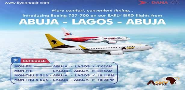 Dana Air adds Boeing 737- 700 aircraft to Fleet