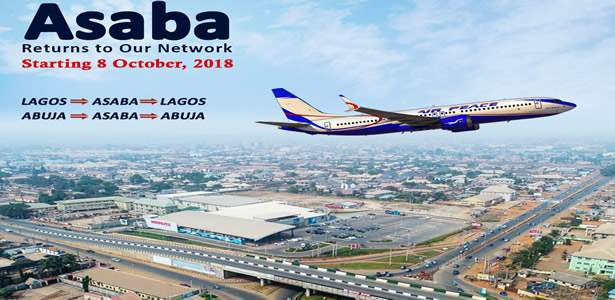 It's official! Air Peace relaunches Asaba route October 8, adds Abuja to service