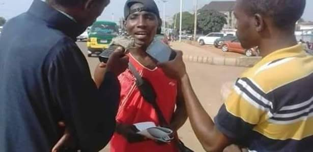 Young man treks from Zaria to Abuja to show support for Atiku