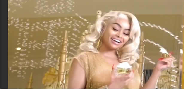 Model gets in trouble on her first visit to Nigeria:Blac Chyna