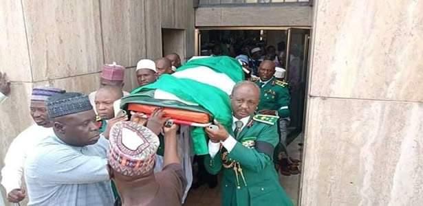 Remains of Major General Idris Alkali buried in Abuja