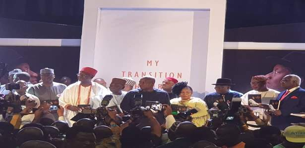 Jonathan's book launch in Abuja: My Transition Hours