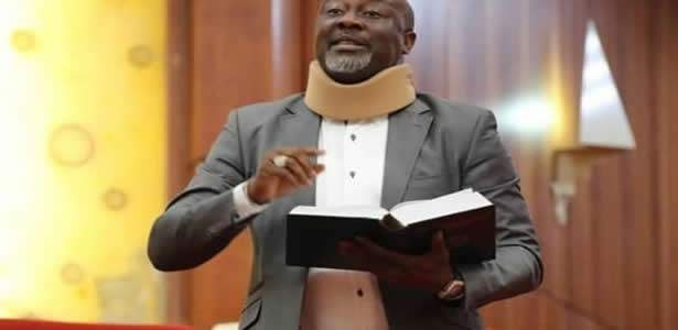 Dino Melaye almost killed a police officer, we won't leave his residence', police vows