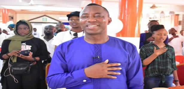 Sowore's supporters protest exclusion at debate venue