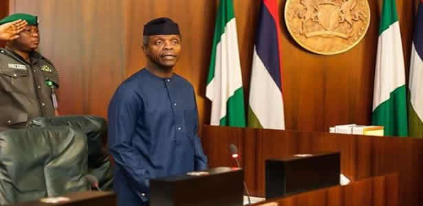 How will one 'Jubril' preside over FEC - Osinbajo queries