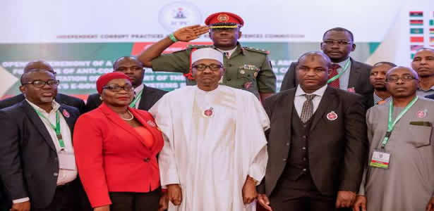 Buhari's remarks at corruption risk assessment training in Abuja