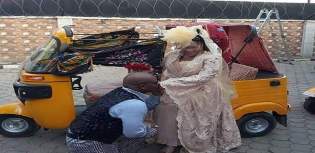 Charlyboy remarries Lady Diane