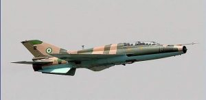 Air Force jet destroys Boko Haram gun trucks in Borno