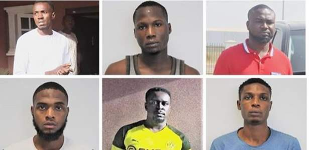 EFCC arrests six suspected Yahoo boys in Abuja, recover two Bugatti, Porshe