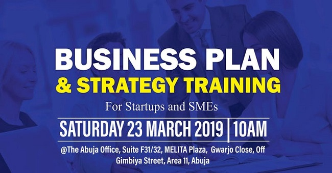 Business Plan and Strategy Training
