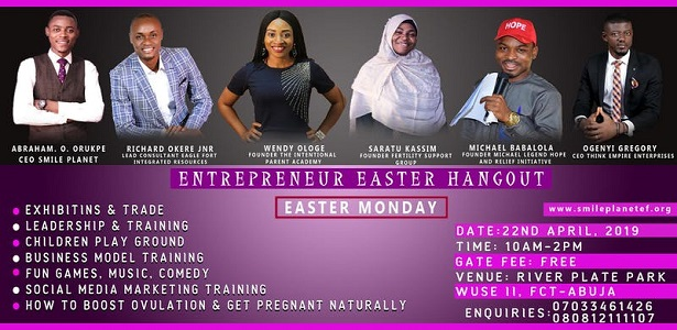 Entrepreneurs Easter Hangout