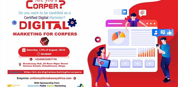 Digital Marketing For Corpers