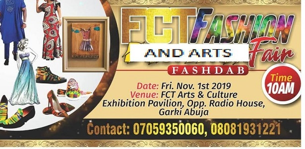 FCT Fashion and party fair
