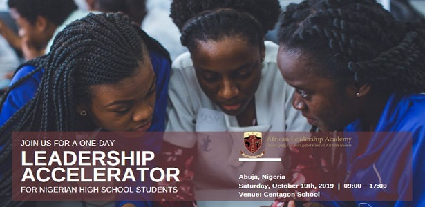 Leadership Accelerator for Exceptional High School Seniors – Abuja. Nigeria